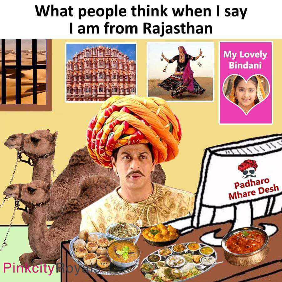 What People Think When I Say I Am From Rajasthan
