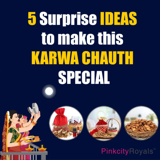 5 surprise ideas to make this karwa chauth special