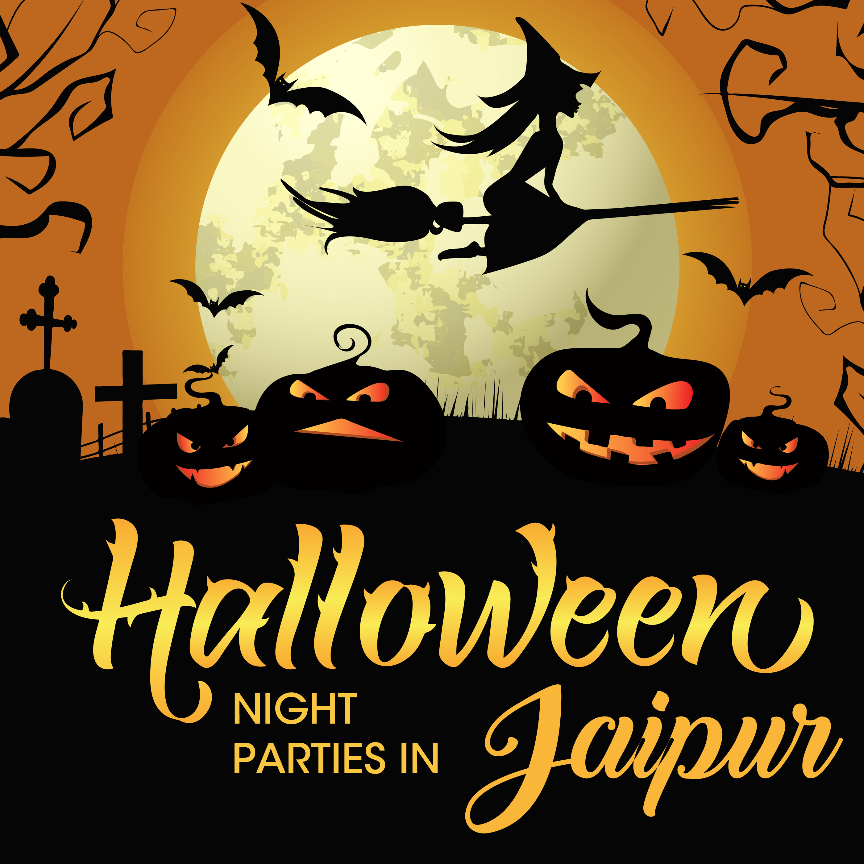 Halloween Night Parties in Jaipur